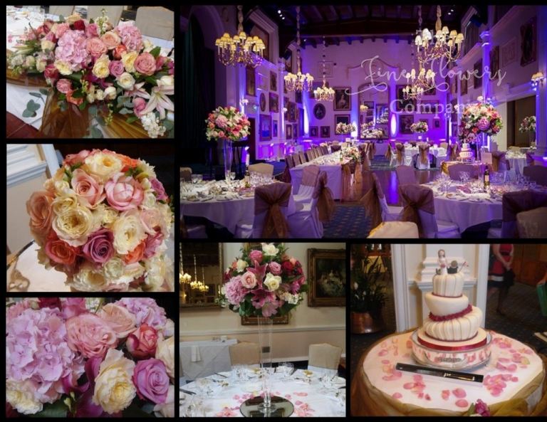 Wenthworth Golf Club wedding flowers - wentworthgolf club florist