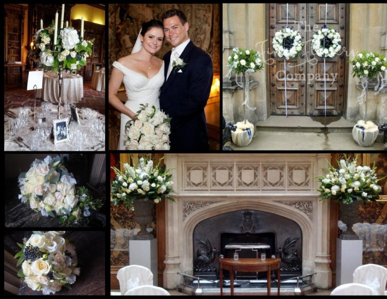 Highclere Castle wedding florist - recommended supplier