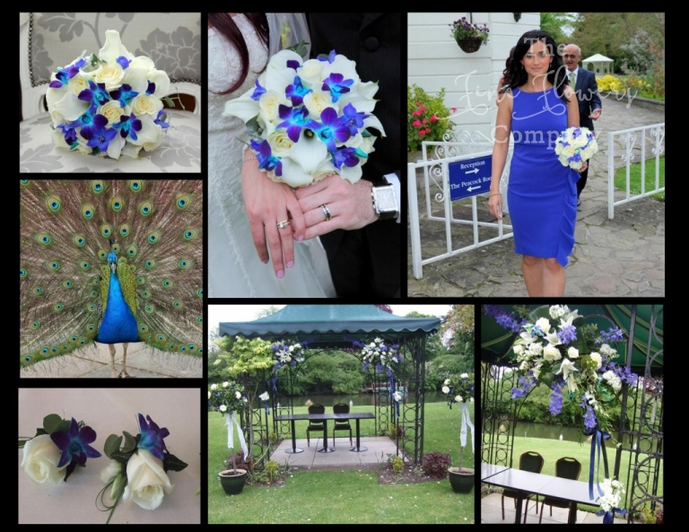 Monkey Island wedding - florist photos, wedding flowers, Bray wedding