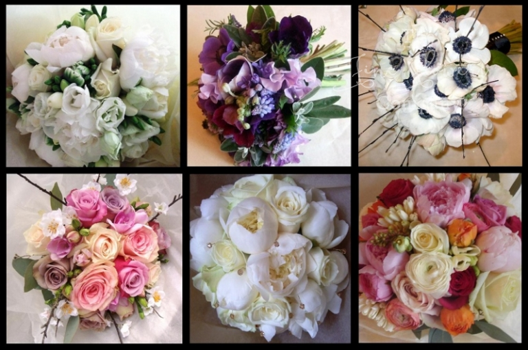 spring wedding flowers bouquets