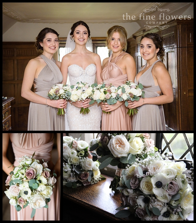 Egham Wedding Venue: Blossom Flower Trees At Great Fosters Winter Wedding » The
