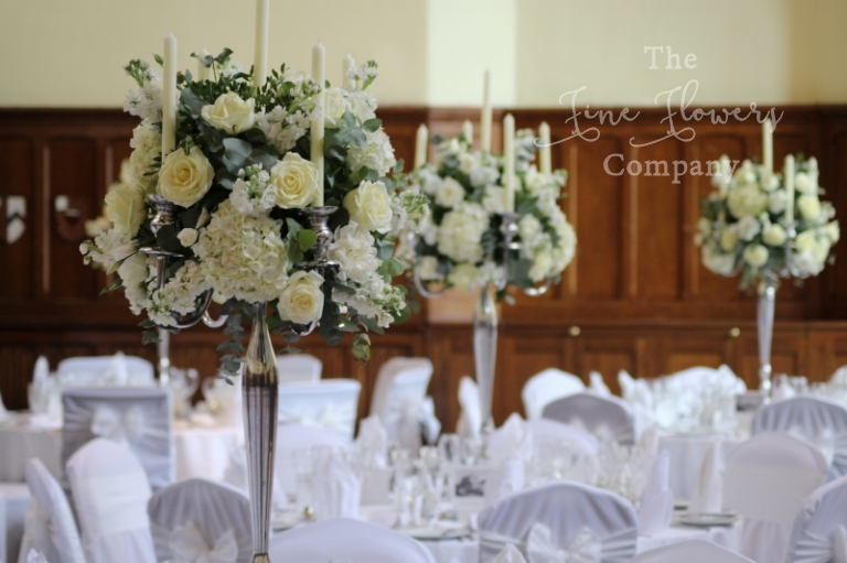 Wedding Flowers Photos From Horsley Towers Surrey