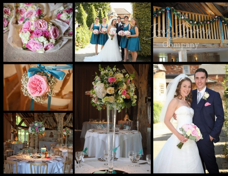 Bury Court Barn wedding flowers - photos, Berkshire wedding flowers