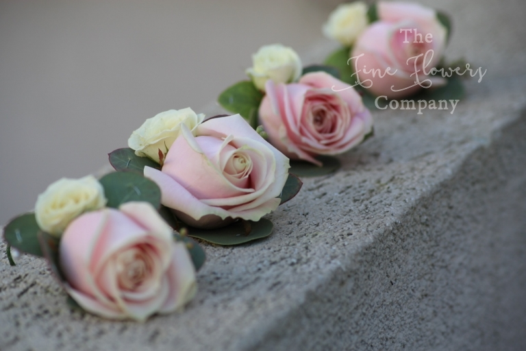 sweet avalanche pink blush rose buttonhole