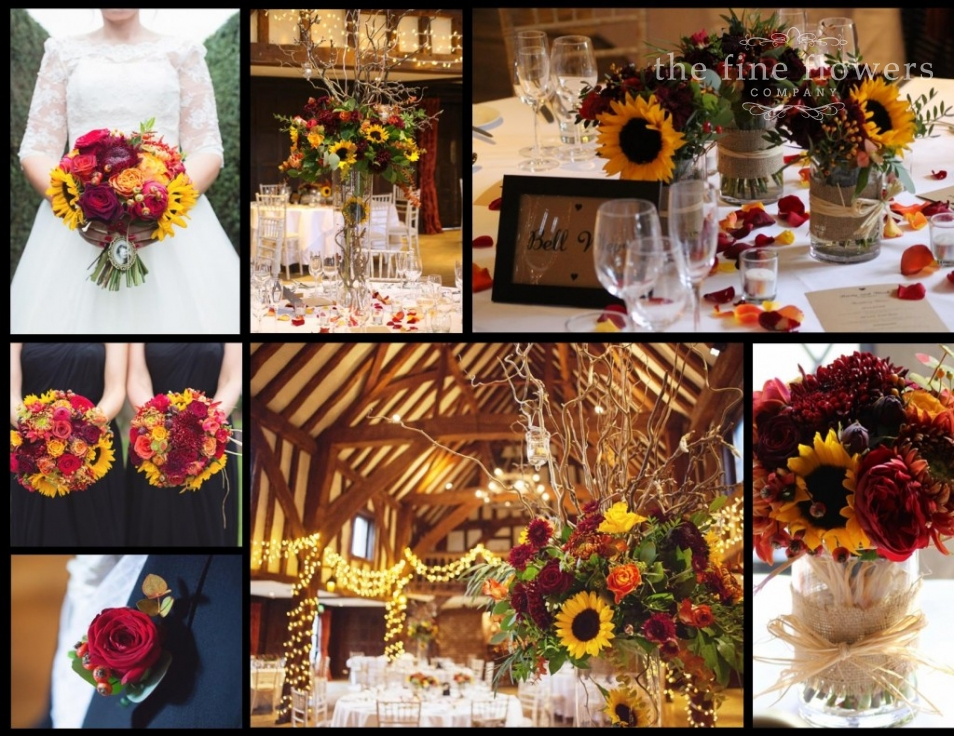 Rustic Wild Autumn Wedding At Great Fosters The Fine Flowers Company Surrey