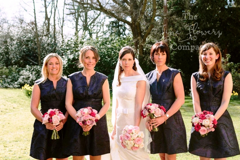 bridal wedding flowers surrey and west london