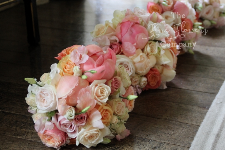 vintage bridal bouquets - berkshire wedding flowers
