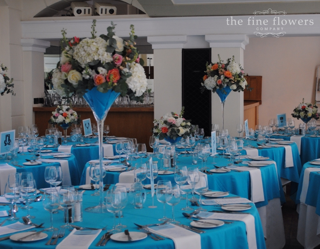 Pembroke Lodge Wedding Flowers Beautiful Ivory Coral And Tiffany Blue The Fine Flowers