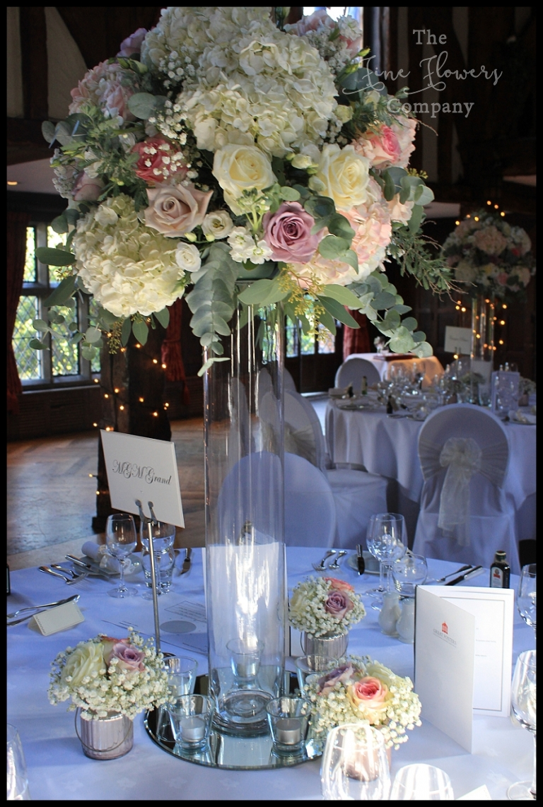 Ivory Pink Lilac Wedding Flowers The Fine Flower Company