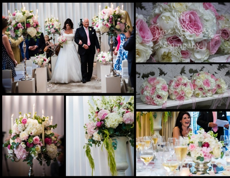 Coworth Park wedding, wedding at Coworth Park, Coworth Park florist, Coworth Park Photography, ivory and pink summer wedding flowers, coworth park photography, ivory and pink wedding flowers, Berkshire wedding flowers.