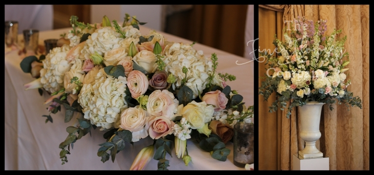 Wedding Flowers In Essex : Beautiful vintage wedding flowers at down hall essex