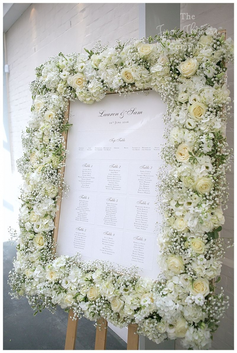 Pure white wedding flowers - The Fine Flower Company
