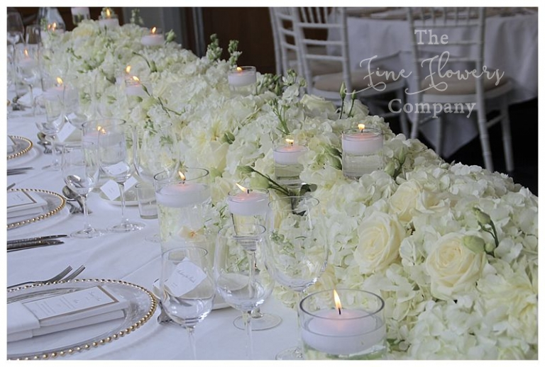 Pure white wedding flowers the fine flower company dreamy white top table wedding flowers botleysmansionweddingpurewhiteweddingflowerslh0030 junglespirit Choice Image