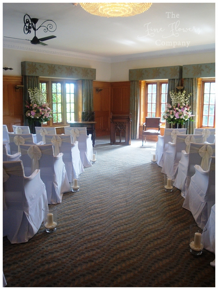 pennyhill park wedding ceremony