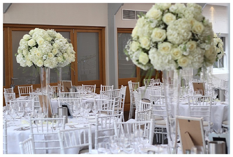 Tall Wedding Flowers Table Centrepieces The Fine Flower Company