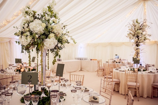 Beautiful Marque Wedding Flowers
