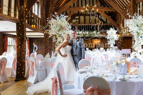 Great Fosters Surrey Wedding Venue Florist