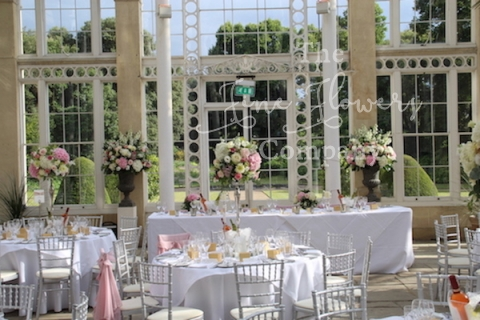 Syon Park Surrey Wedding Flowers Florist