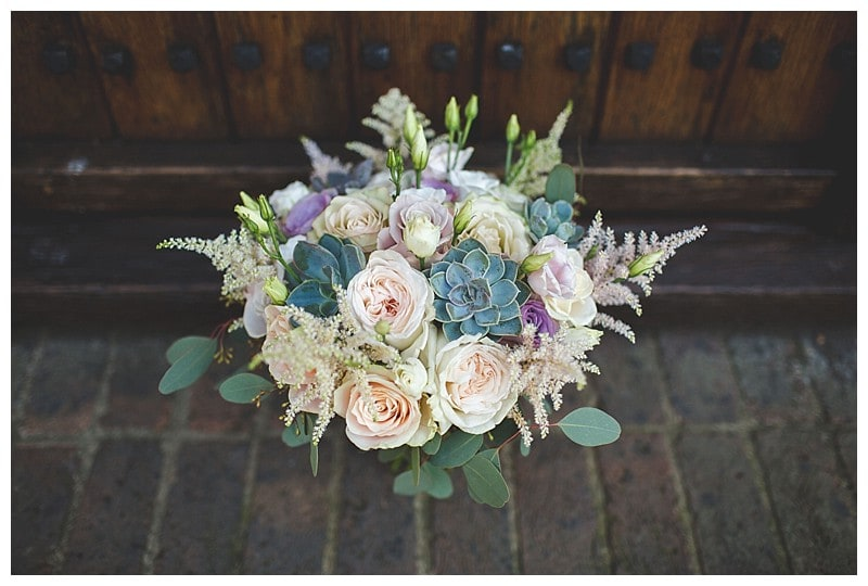 Vintage Wedding Flowers At Great Fosters