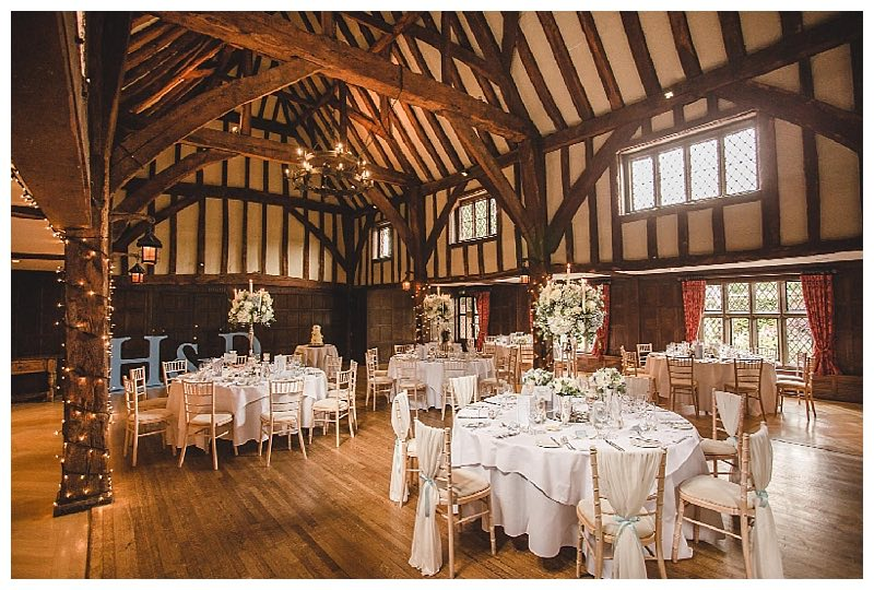 tithe barn wedding flowers