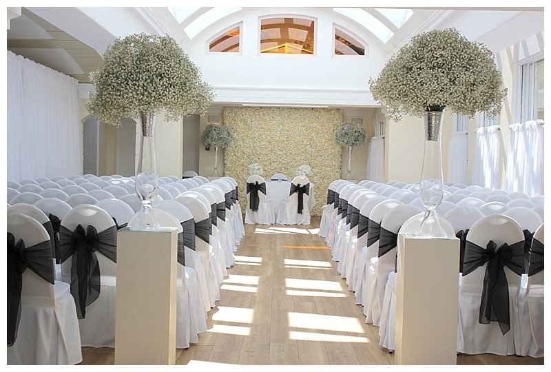 pembroke lodge wedding florist, richmond wedding florist