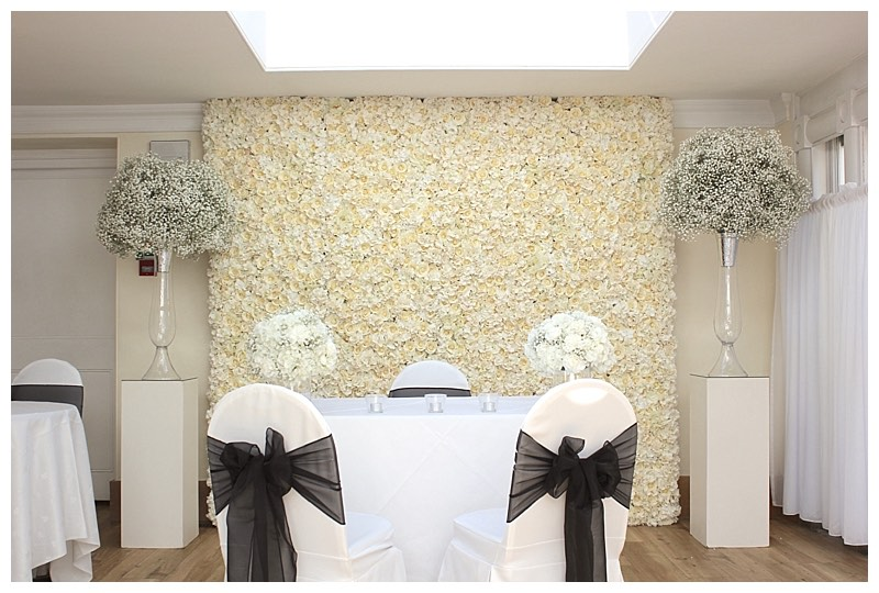 flowerwall backdrop for hire