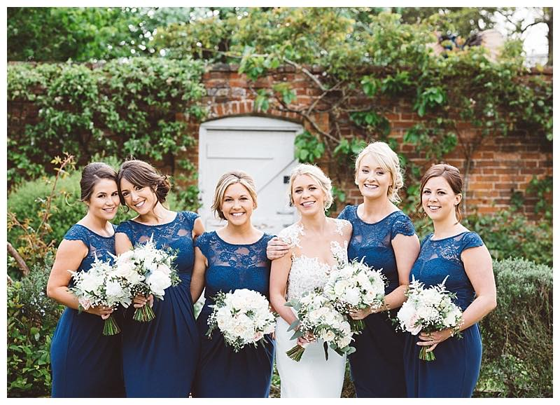 surrey wedding flowers - bridal and bridesmaids bouquets, bridal flowers at Northbrook park in surrey.
