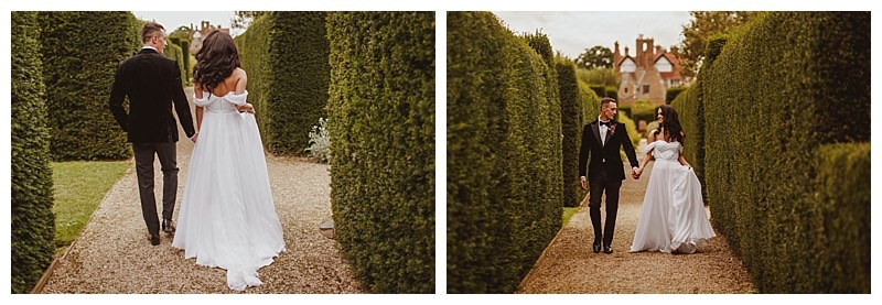 wedding at loseley in surrey